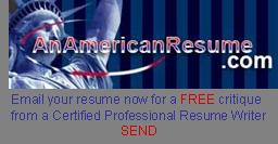 AnAmericanResume Free Critique