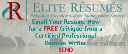 New Free Resume Critique
