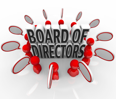 board of directors resumes