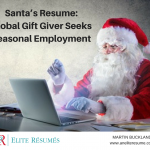 Santa's Resume: Global Gift Giver Seeks Seasonal Employment