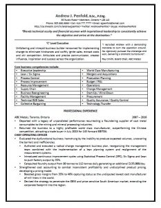 executive resume pg 1