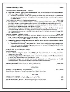 executive resume pg 3