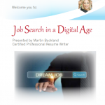 Job Search In A Digital Age Workshop
