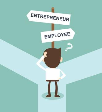 entrepreneur employee essay