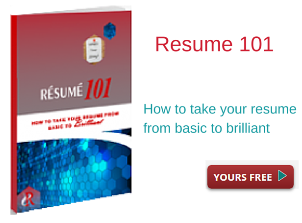 Resume 101 free ebook download Resumes and Job Coaching for Executives