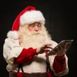 Santa on Snapchat? Because it's 2015!