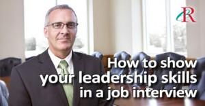 show-leadership-job-interview-text