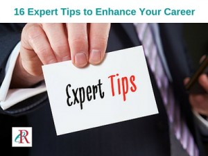 16 Expert Tips to Enhance Your Career This Year