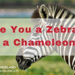 Are You a Zebra, or a Chameleon?
