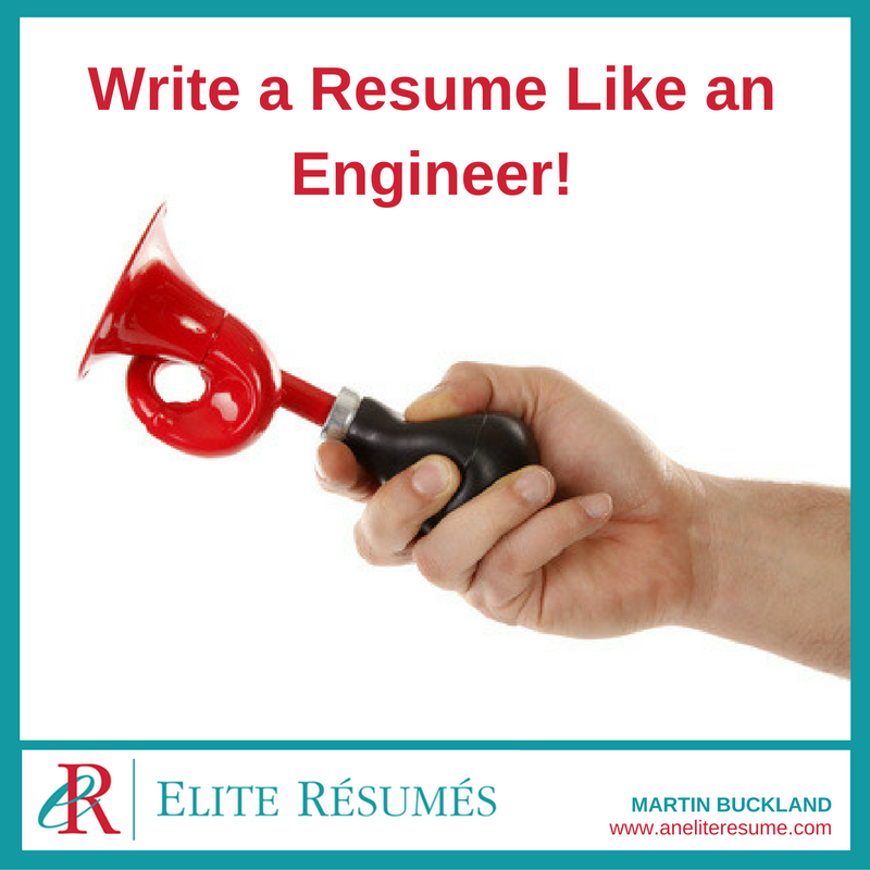 Write A Resume Like An Engineer