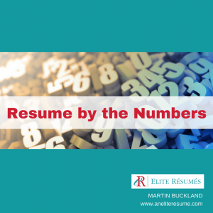Resume by the numbers