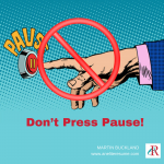 Don't Press Pause on your job search
