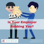 Is Your Employer Robbing You?