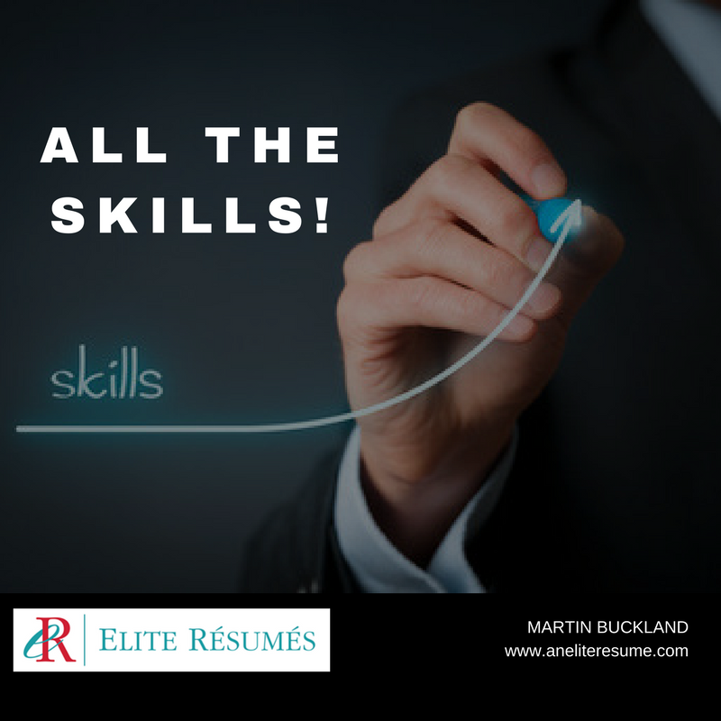 all the skills on your resume