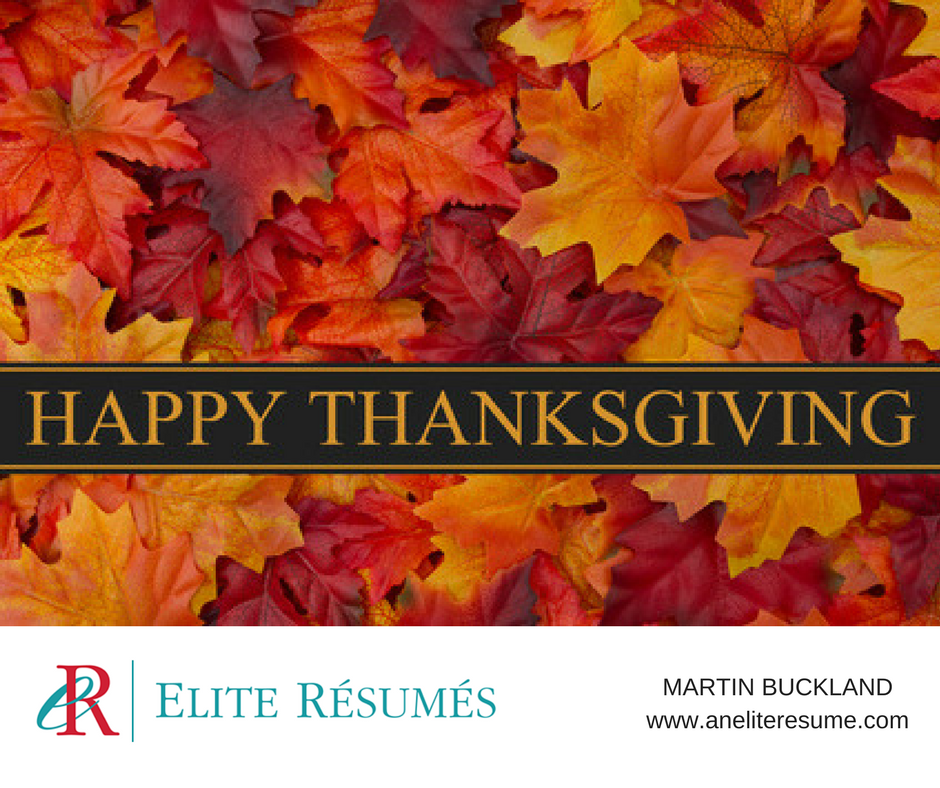 Warm wishes for a Happy Thanksgiving to my clients, colleagues, and friends  in the U.S.! This is the perfect time of year for a simple reminder that  giving ...