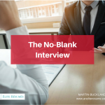 The No-Blank Interview