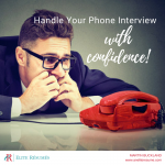 Handle Your Phone Interview with Confidence
