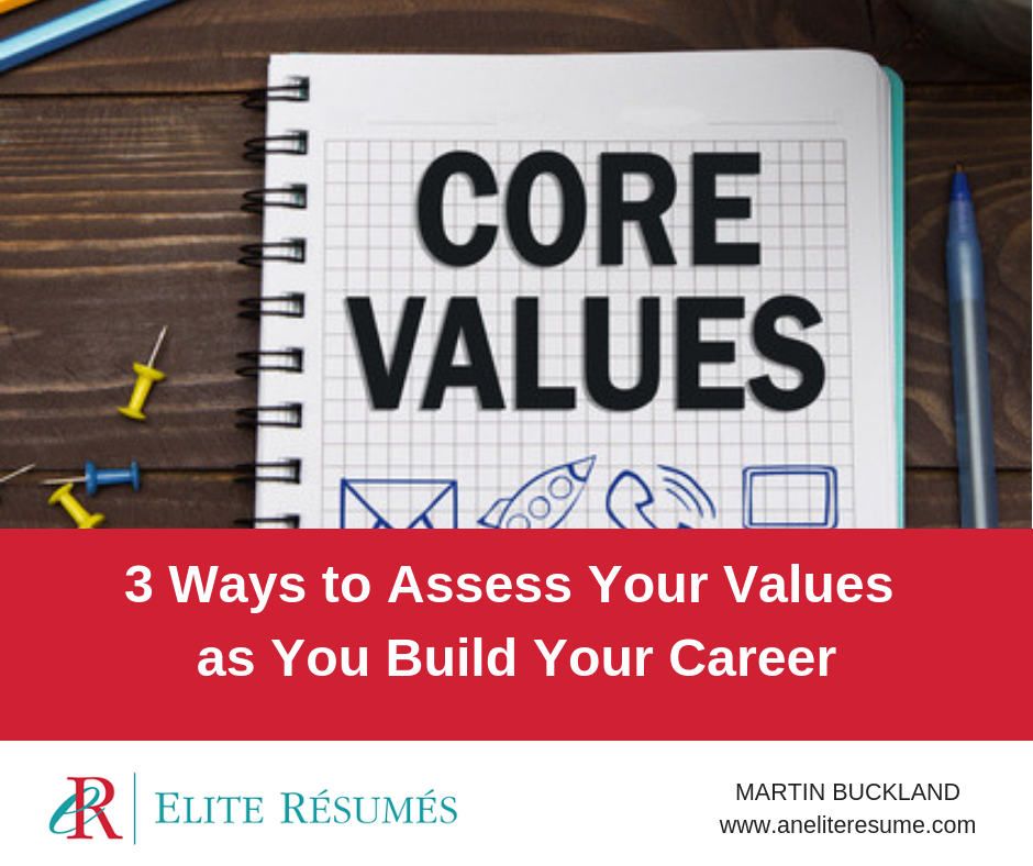 3 Ways to Assess Your Personal Values as You Build Your Career ...