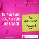 Be 'New Year' Ready in Your Job Search