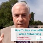 eMBA Networking | Martin Buckland