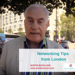 Networking Tips from London
