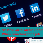 Successful Social Media Habits When Searching for a Job