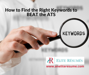 How to Find the Right Keywords to BEAT the ATS