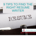 9 tips to find the right resume writer