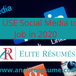 How to Use Social Media to Get a Job in 2020