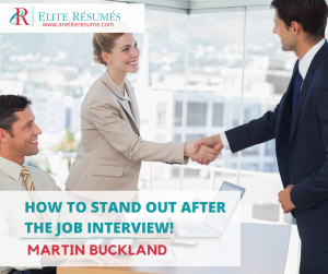 interview, TOP TIP!  How To STAND OUT After The Job Interview!