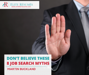 job, Don't believe these 8 job search myths!